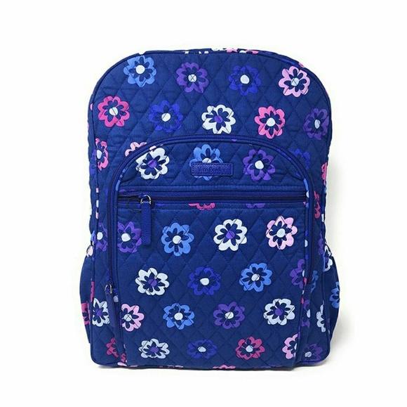 Vera Bradley Handbags - Vera Bradley Campus Backpack in Ellie Flowers